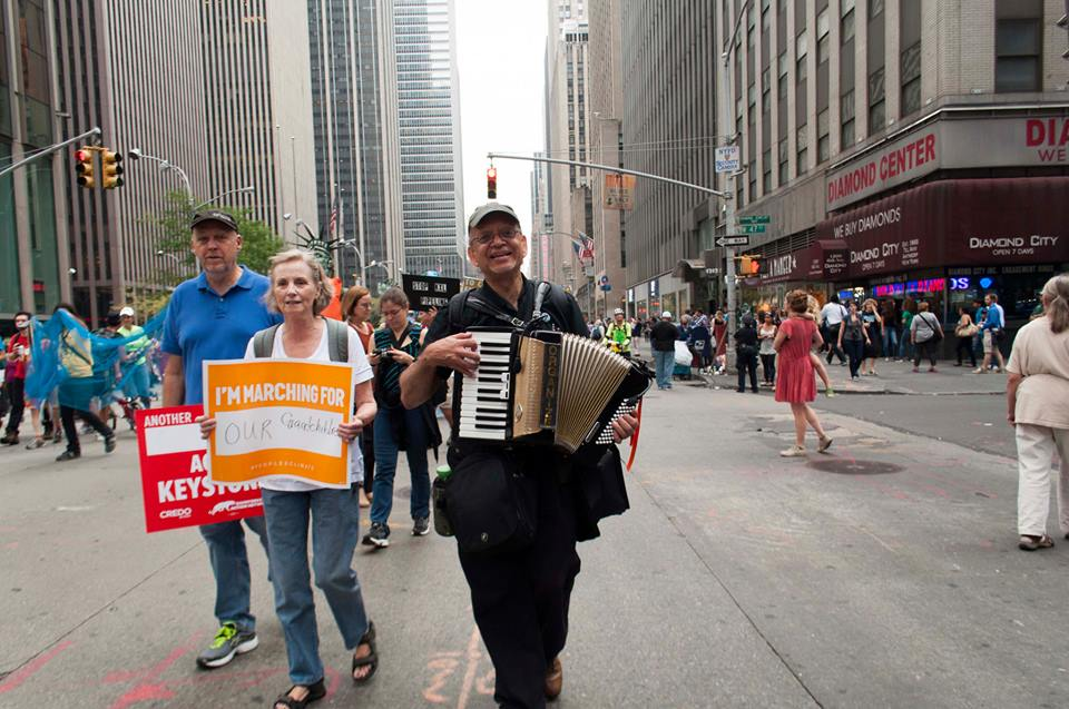 Climate March from Resa